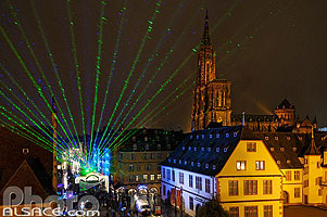 Photo : Lancement officiel des illuminations de Noël 2010 de Strasbourg, Bas-Rhin (67)