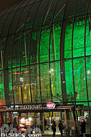 Photo : Illumination de Noël de la gare de Strasbourg, Bas-Rhin (67)