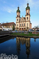 Photo : Abbatiale Saint-Maurice, Ebersmunster, Bas-Rhin (67), Alsace, France