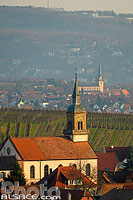 Photo : Eglise Saint-Jean-Baptiste, Heiligenstein, Bas-Rhin (67), Alsace, France