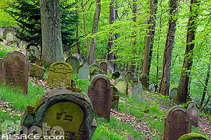 Photo : Cimetière Juif de Saverne, Bas-Rhin (67), Alsace, France