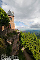 Photo : Mont Sainte-Odile, Ottrott, Bas-Rhin (67), Alsace, France