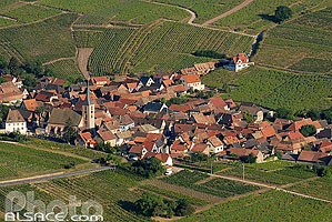 Photo : Village et vignoble de Blienschwiller, Bas-Rhin (67)
