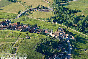 Photo : Village et vignoble de Itterswiller, Bas-Rhin (67)