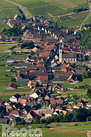 Photo : Village de Nothalten, Bas-Rhin (67), Alsace, France
