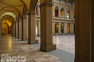 Photo : Aula du palais universitaire, Strasbourg, Bas-Rhin (67), Alsace, France