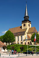 Photo : Eglise de la Sainte-Trinité, Place de la République, Lauterbourg, Bas-Rhin (67)