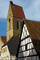 Photo : Eglise Saint-Pierre et Paul, Eguisheim, Haut-Rhin (68)