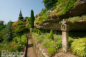 Photo : Grotte Saint-Vit, Saverne, Bas-Rhin (67), Alsace, France