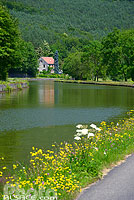 Photo : Canal de la Marne au Rhin, Saverne, Bas-Rhin (67), Alsace, France