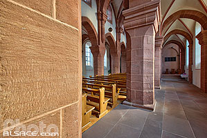 Photo : Eglise Saint-Adelphe, Neuwiller-lès-Saverne, Bas-Rhin (67), Alsace, France