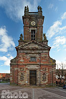 Photo : Eglise Romane Saint-Pierre et Paul, Neuwiller-lès-Saverne, Bas-Rhin (67), Alsace, France