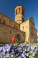 Photo : Eglise romane Saint-Pierre et Paul, Rosheim, Bas-Rhin (67), Alsace, France
