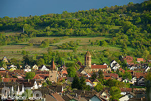 Photo : Village de Rosheim, Bas-Rhin (67)