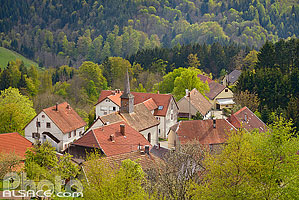 Photo : Village de Belmont, Bas-Rhin (67)
