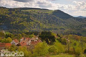 Photo : Village de Belmont, Bas-Rhin (67), Alsace, France