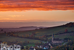 Photo : Chapelle Saint-André, Andlau, Bas-Rhin (67), Alsace, France