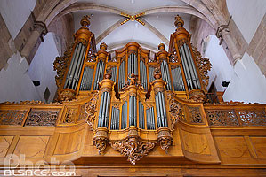 Photo : Orgue (Silbermann), Eglise Saint-Thomas, Strasbourg, Bas-Rhin (67)