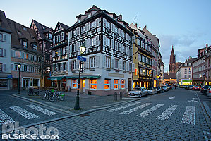 Photo : Rue d'Or, Strasbourg, Bas-Rhin (67), Alsace, France