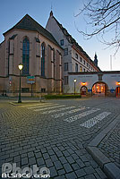 Photo : Chapelle Saint-Erhard, Hôpital Civil, Place de l'Hôpital, Strasbourg, Bas-Rhin (67), Alsace, France