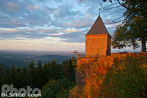 Photo : Chapelle des Anges, Mont Sainte-Odile, Ottrott, Bas-Rhin (67)