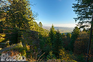 Photo : Rocher du Panorama, Barr, Bas-Rhin (67)