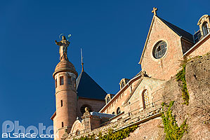Photo : Le Mont Sainte-Odile, Ottrott, Bas-Rhin (67)