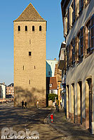 Photo : Tour du Bourreau (Henckerturm), Quai de Turckheim, Strasbourg, Bas-Rhin (67)