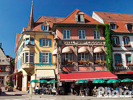 Photo : Hotel de la Cigogne, Munster, Haut-Rhin (68)