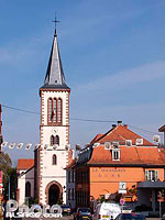 Photo : Eglise Saint-Leger, Rue Alfred Hartmann, Munster, Haut-Rhin (68)