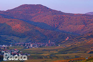 Photo : Le village de Kaysersberg, Haut-Rhin (68), Alsace, France