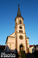 Photo : Eglise Saint-Michel, Rorschwihr, Haut-Rhin (68)