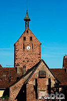 Photo : Tour Dolder, Riquewihr, Haut-Rhin (68), Alsace, France