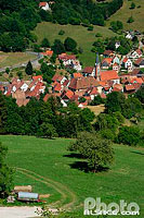 Photo : Village de Soultzeren, Haut-Rhin (68), Alsace, France