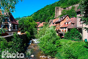 Photo : La Weiss, Kaysersberg, Haut-Rhin (68)