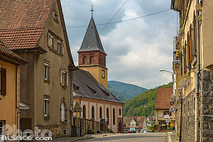 Photo : Eglise protestante, Muhlbach-sur-Munster, Haut-Rhin (68)