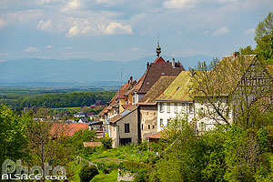 Photo : Ferrette, Sundgau, Haut-Rhin (68)