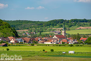 Photo : Village de Oltingue, Sundgau, Haut-Rhin (68)