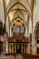 Photo : Orgue Silbermann de l'église Saint-Maurice, Soultz-Haut-Rhin, Haut-Rhin (68), Alsace, France