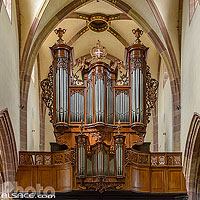 Photo : Orgue Silbermann de l'église Saint-Maurice, Soultz-Haut-Rhin, Haut-Rhin (68)
