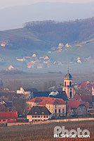 Photo : Village de Saint-Hippolyte, Route des vins d'Alsace, Haut-Rhin (68)