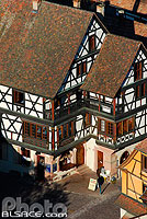 Photo : Maison Alsacienne, Kaysersberg, Haut-Rhin (68)