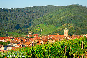 Photo : Village de Kaysersberg, Haut-Rhin (68)