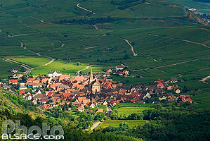 Photo : Village de Niedermorschwihr, Haut-Rhin (68)