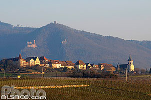 Photo : Village de Zellenberg, Haut-Rhin (68)