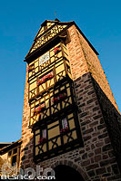Photo : Tour Dolder, Riquewihr, Haut-Rhin (68)