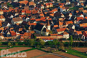 Photo : Village de Guémar, Haut-Rhin (68), Alsace, France