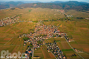 Photo : Village de Beblenheim, Haut-Rhin (68)