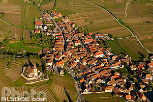 Photo : Village de Hunawihr, Haut-Rhin (68)