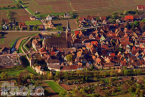 Photo : Village de Bergheim, Haut-Rhin (68)